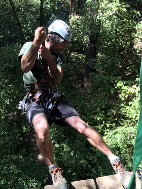 Courtesy of Mount Hermon Redwood Canopy Tours