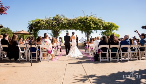Gorgeous wedding for Carissa and Patricio