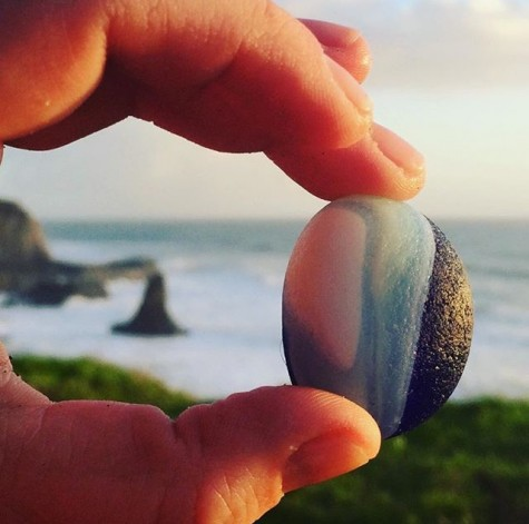 Photo by @tidecharmers at Davenport Beach