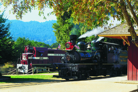 Roaring Camp - OctoberSteam - Side by Side