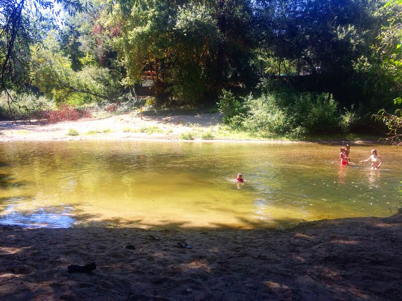 Swimming spot Henry Cowell