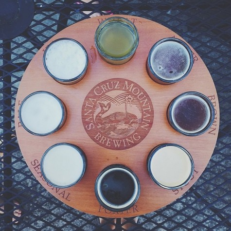Santa Cruz Mountain Brewing - Photo by Instagram, @worth1kwords