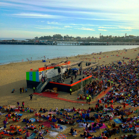 Free Concerts At The Beach Boardwalk