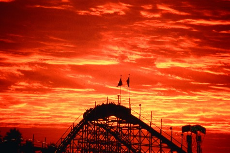 Giant Dipper at Sunset