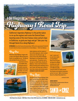 Highway 1 Road Trip itinerary