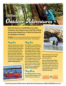 Outdoor Adventures Itinerary