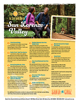 Top 10 Things to See and Do in San Lorenzo Valley