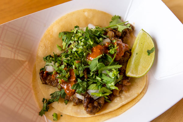 Dulce Milk Ranch Tacos