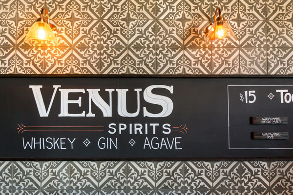 Venus Spirits interiors by stripe design