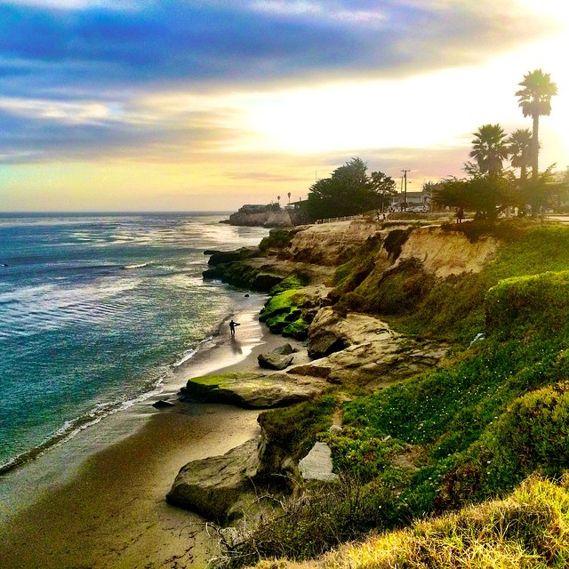 #SantaCruzNow sunset shot by Instagram fan, @jasaiz