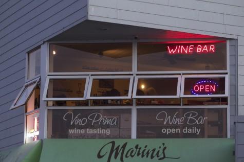 Wine tasting at Vino Prima