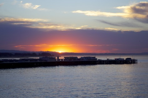 Sunrise Santa Cruz Wharf