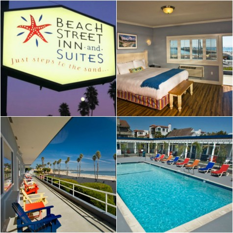 Beach Street Inn and Suites Collage