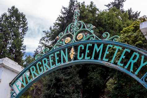 Evergreen Cemetery - All photos by Garrick Ramirez
