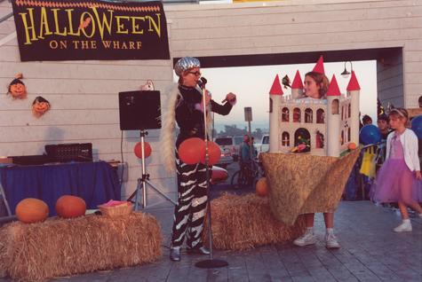Halloween on the wharf