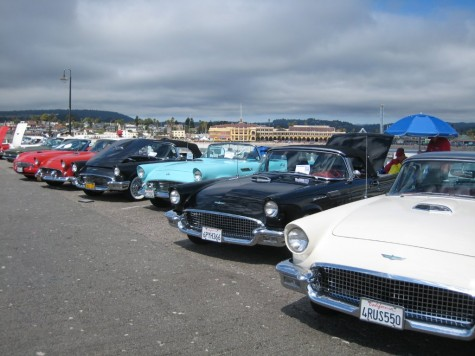 Thunderbirds on the Santa Cruz Wharf