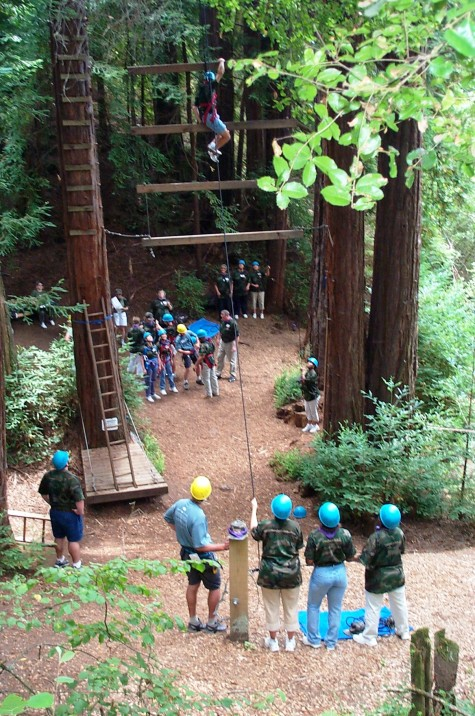 Chaminade Ropes Course