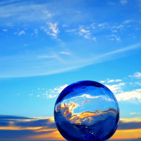 julieiswonky - glass orb - BLOG