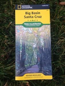 Big Basin Santa Cruz Trails Map