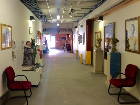 Hallway Exhibit