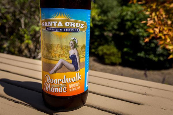 Boardwalk Blonde Ale bottle